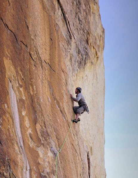 Rock Climbing Photo: Figures on a Landscape