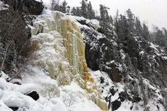 Rock Climbing Photo: Cascade Falls. 03/01/14.