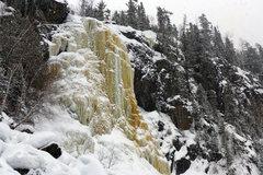 Rock Climbing Photo: Cascade Falls. 03/01/14.