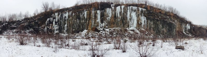 Quarry conditions as of January 2, 2015