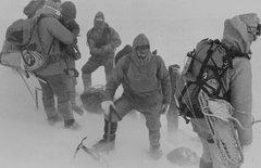 Rock Climbing Photo: 1982 North Conway Mt Rescue team on Mt Washington ...