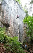Rock Climbing Photo: Enjoying the magnificent pegboard of 2-finger pock...