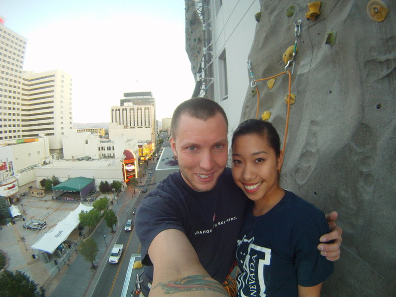 Downtown Reno, My Lovely Lady and I
