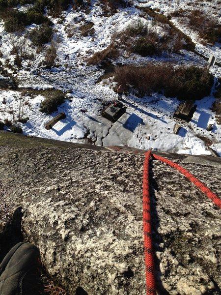 Rock Climbing Photo: Bluffs