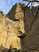 Rock Climbing Photo: Main Wall A - 5.11b  B - 5.11+ C - 5.12 D - 5.11+