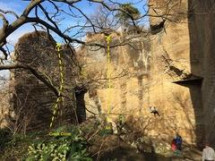 Rock Climbing Photo: Crack Climb!