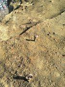 Rock Climbing Photo: An odd anchor