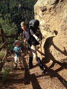 Rock Climbing Photo: Pikes Peak