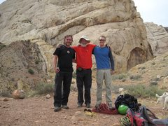 Rock Climbing Photo: Pat Moe,Chris Bonington ,Steve Rydalch. San Rafael...