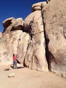 Rock Climbing Photo: Dane leading Karpkwitz