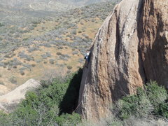 Rock Climbing Photo: A warm sunny winter day at The Panhandle.
