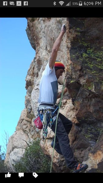 Rock Climbing Photo: Pretty sure this is the route