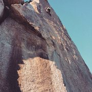 Rock Climbing Photo: Fantastic route! A edging masterpiece!