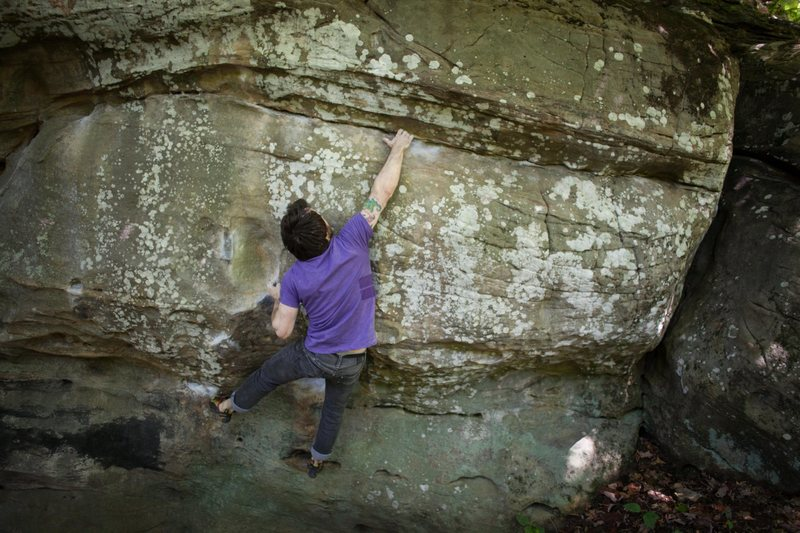 "Rock Climbing Photo: Bill ""NoILL"" Wendt mid-send on Tyler Dur..."