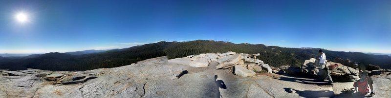 Rock Climbing Photo: Panorama from Summit