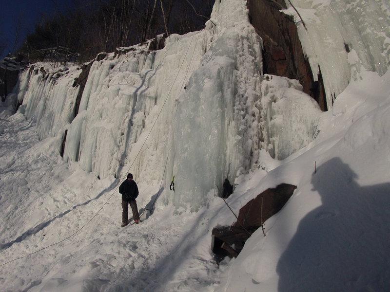 Rock Climbing Photo: Nice February conditions...