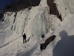 Rock Climbing Photo: Nice February conditions...