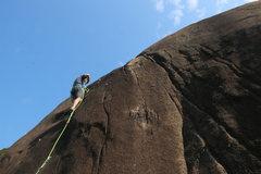 Rock Climbing Photo: Ian Smith on Roland.