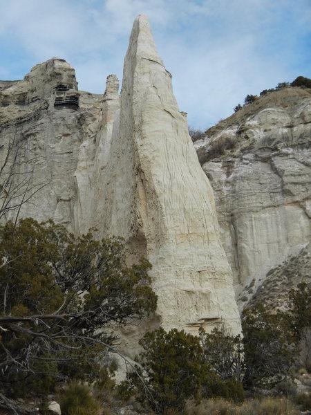 Rock Climbing Photo: Coal Seam Tower w/o an FA