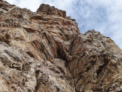 Rock Climbing Photo: 300 feet high