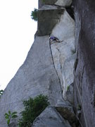 Rock Climbing Photo: 2nd try