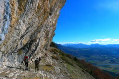 Rock Climbing Photo: Sector 'Grands surplombs jaunes' Ventavon