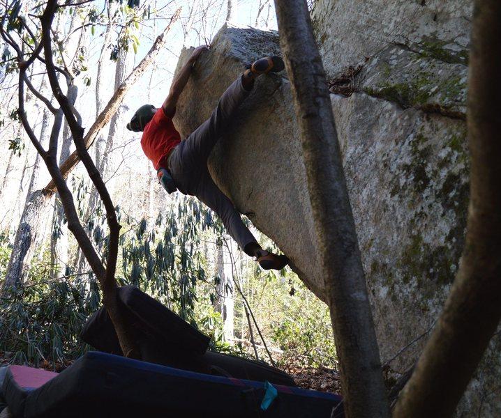 """Rock Climbing Photo: Another shot of """"Sarene Arete"""""""