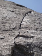 Rock Climbing Photo: The South Cracks start. Beautiful crack with littl...