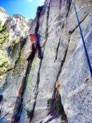 Rock Climbing Photo: John Reinig on the Triple Cracks!!!