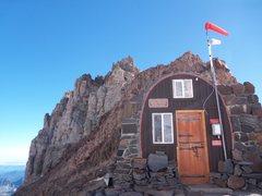 Rock Climbing Photo: Camp Schurman Ranger Station
