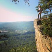 Rock Climbing Photo: Sunset Park with my buddy David Bingaman (Bingo)