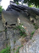 Rock Climbing Photo: looking up the face
