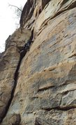 Rock Climbing Photo: Latex Lover 5.11A The Obed