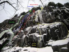 Rock Climbing Photo: Gros Bras area