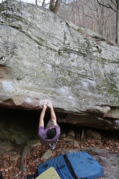 Rock Climbing Photo: Yours truly at the start