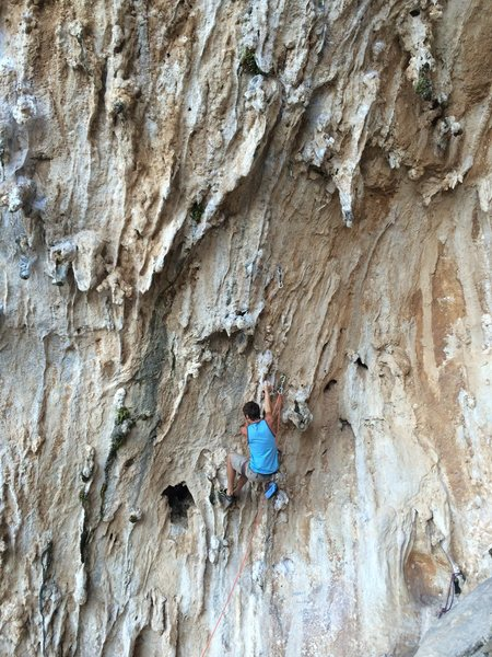 Rock Climbing Photo: Priapus