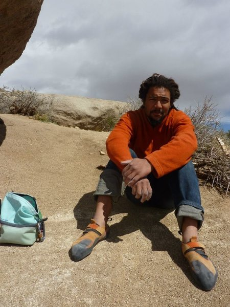 Rock Climbing Photo: Sitting next to the Buttermilk Stem Buttermilks, B...