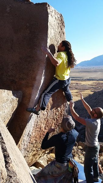 Rock Climbing Photo: Love thy boulder