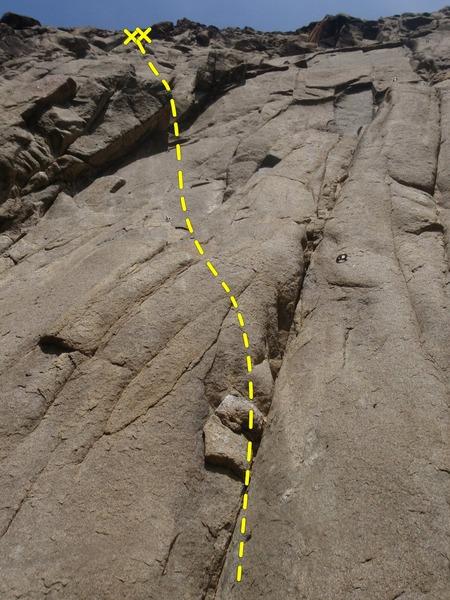 Rock Climbing Photo: Fun moves on good rock.