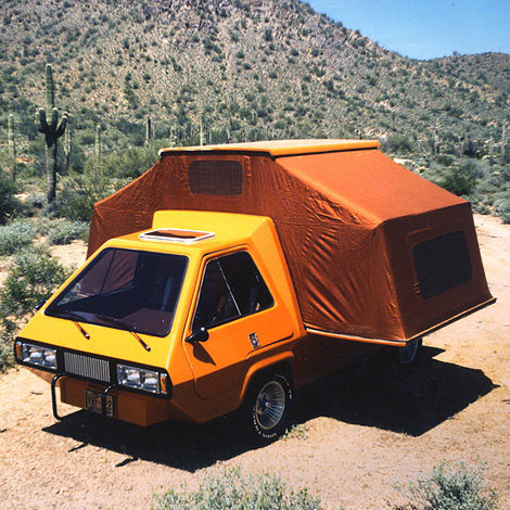 Rock Climbing Photo: Cool-ass van thing