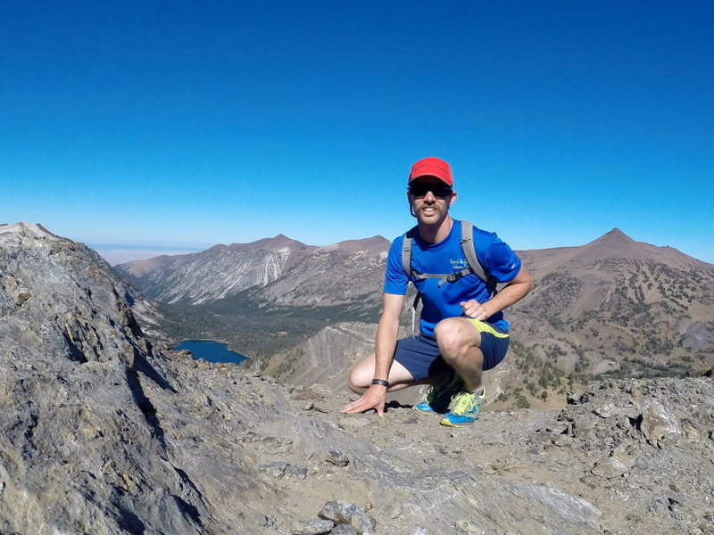 Rock Climbing Photo: On the way up Pete's Point during a summer scoutin...