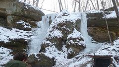 Rock Climbing Photo: Cox Hollow 11 Jan 2015