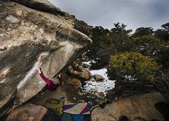 Rock Climbing Photo: Chips