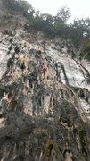 Rock Climbing Photo: Coming down