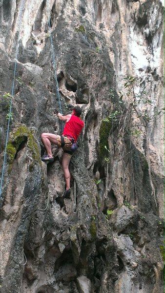 Rock Climbing Photo: On Crag