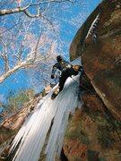 Rock Climbing Photo: Erik Rieger leading Green Disease. Photo by Brett ...