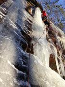 Rock Climbing Photo: Brett Baekey ascending the Tube.