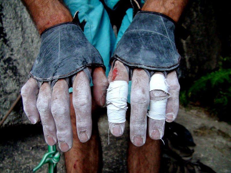 Rock Climbing Photo: Soft Hands