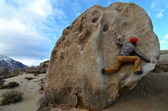 Rock Climbing Photo: Almost done now