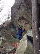Rock Climbing Photo: Impressive overhung wall
